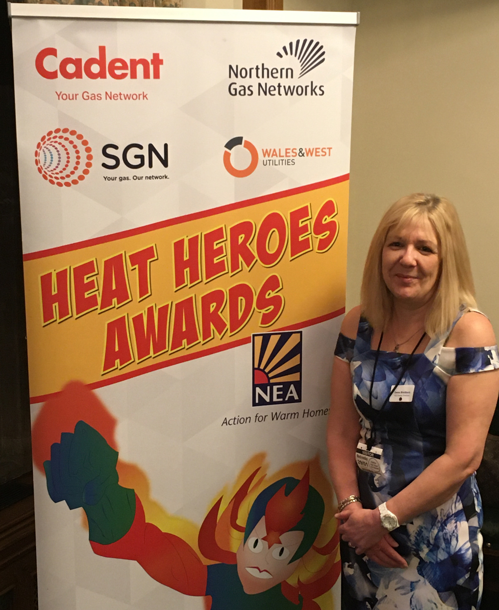 Heat Hero Emma awarded at Houses of Parliament