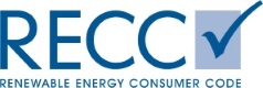 Renewable Energy Consumer Code