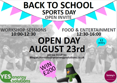 YES Energy Solutions' open day