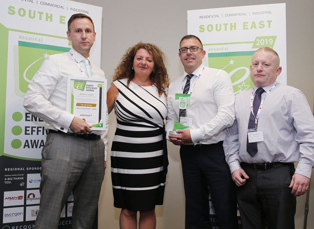 Trenchard Park Regeneration Scheme wins at the South East Energy Efficiency Awards