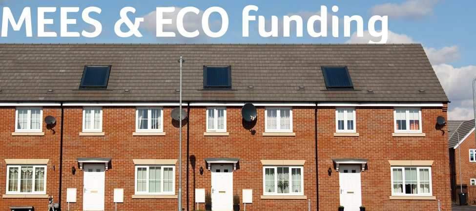 How Minimum Energy Efficiency Standards MEES restrict Energy Company Obligation ECO3 funding for landlords