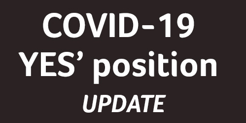 YES's position on the current COVID-19 pandamic