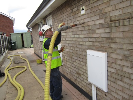 Cavity Wall Insulation Installer