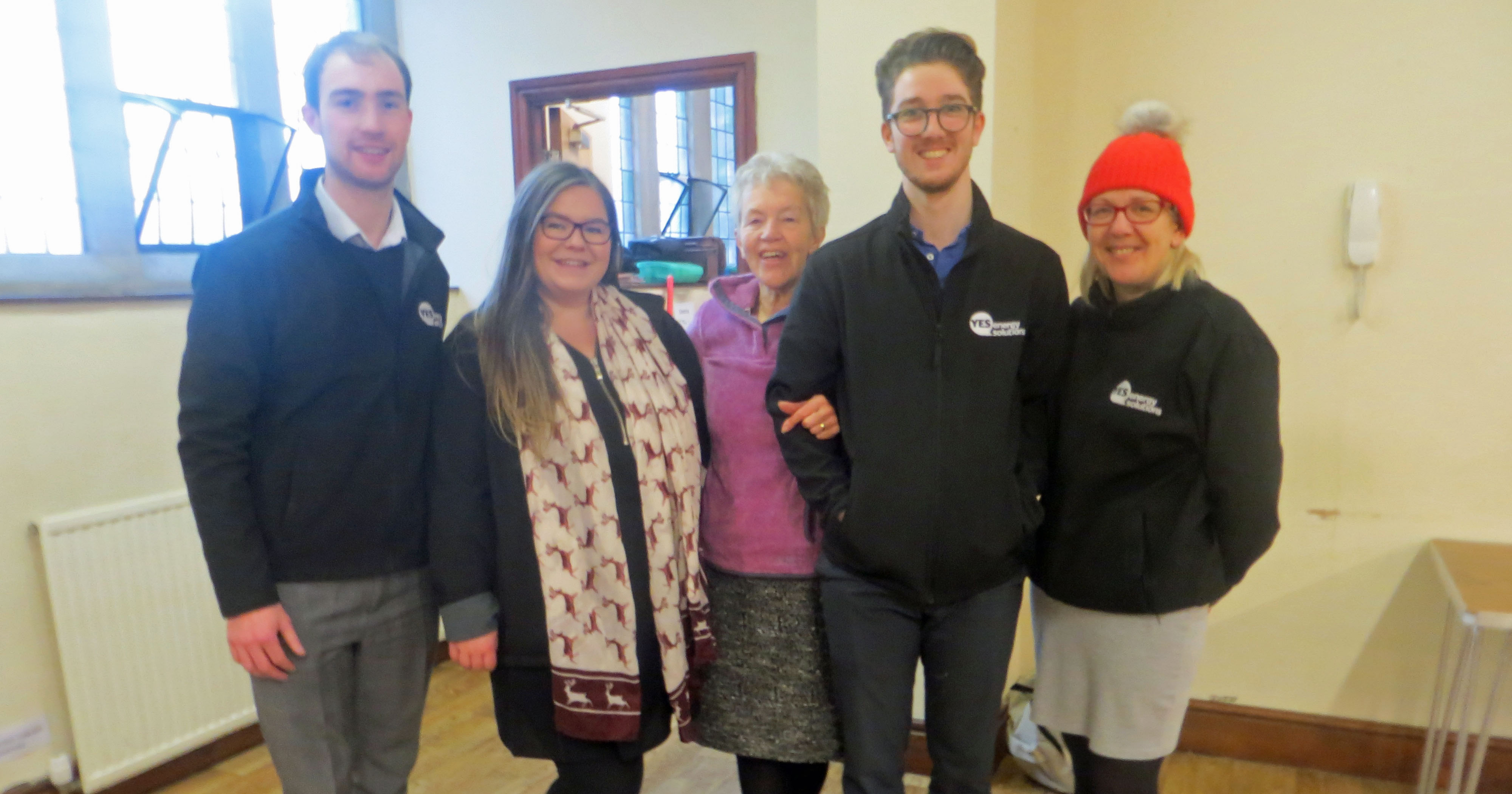 YES Energy Solutions lend a hand at Halifax's foodbank
